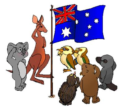 Australia clipart Australian Animal Clipart Emu Australian  Art of