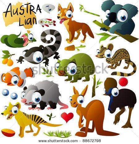 Australia clipart Australian Animal Clipart Pinterest animals best 76 images