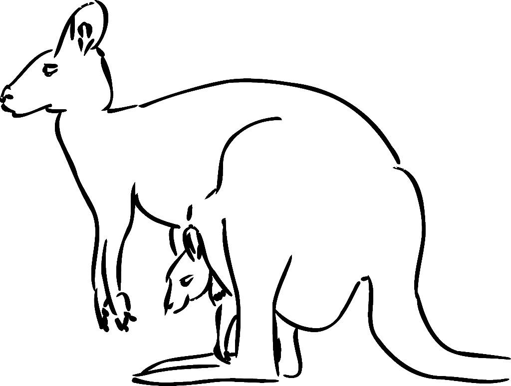 Australia Clipart Black And White Clipart Free Clipart kangaroo%20clipart%20black%20and%20white Panda