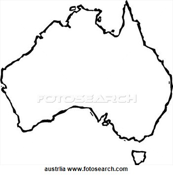 Australia Clipart Black And White Images Free Australia%20Clip%20Art Clipart 20clip
