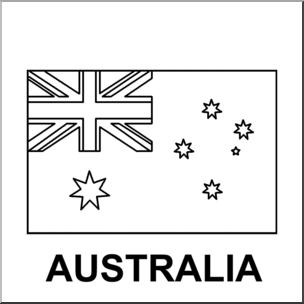Australia Clipart Black And White 1 preview Australia Art: abcteach