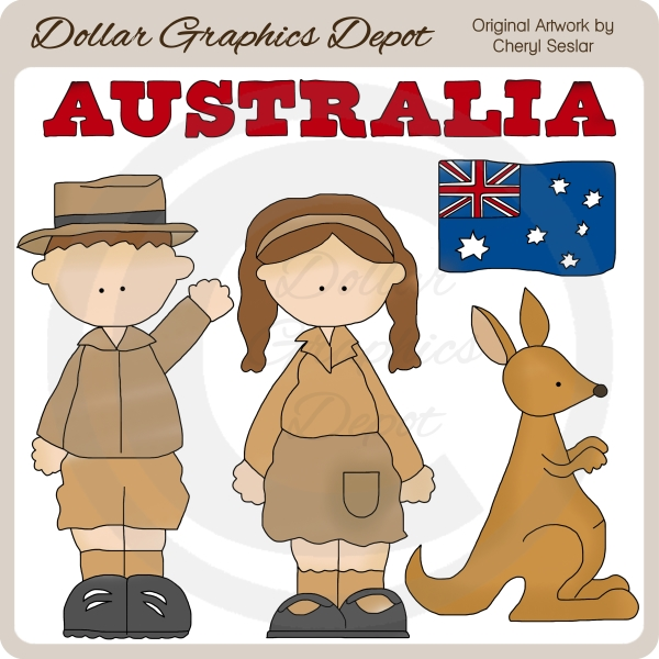 Australian clipart Australian Dollar Clip 00 $1