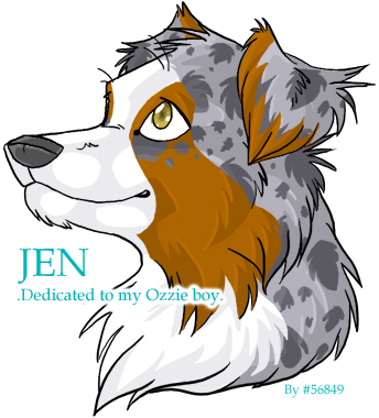 Australian Shepherd clipart Australian Shepherd Head Drawing Aussie Payasa DeviantArt Payasa by