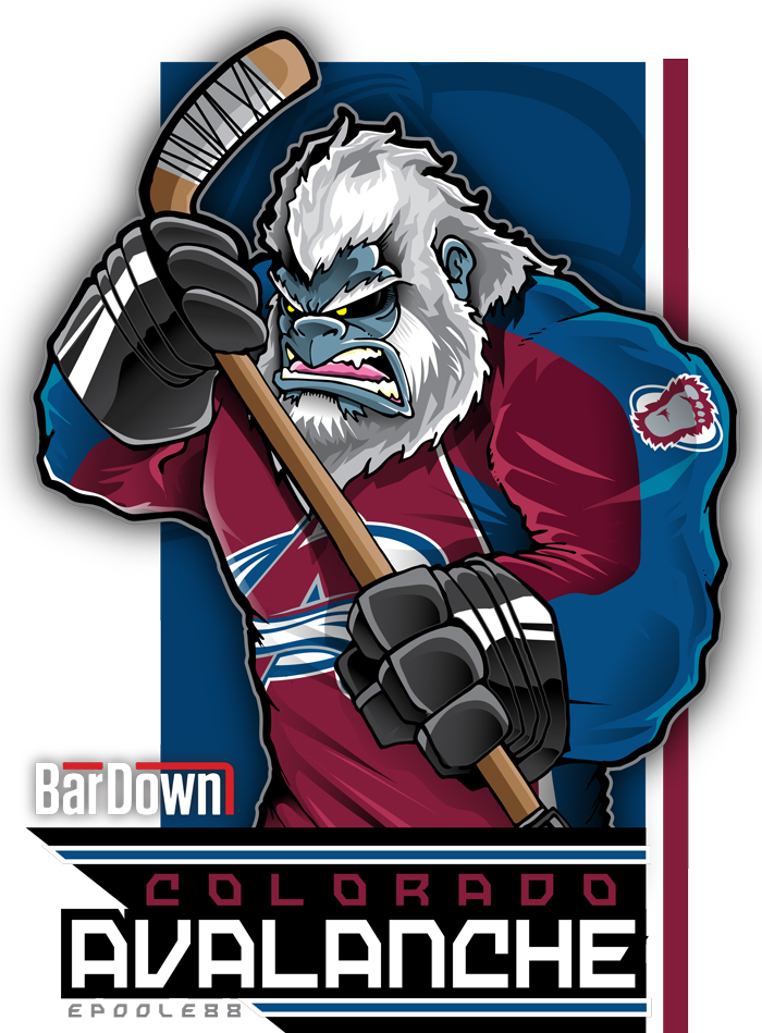 Avalanche clipart simple cartoon Avalanche mascot new Aaaaand Great