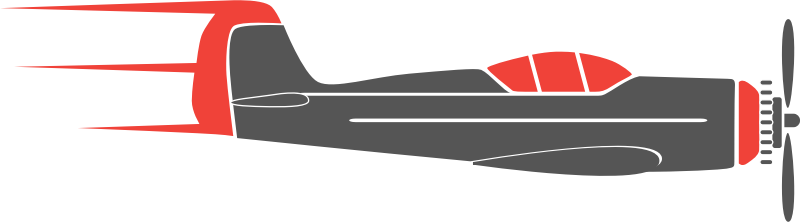 Aviation clipart Clip it without on or