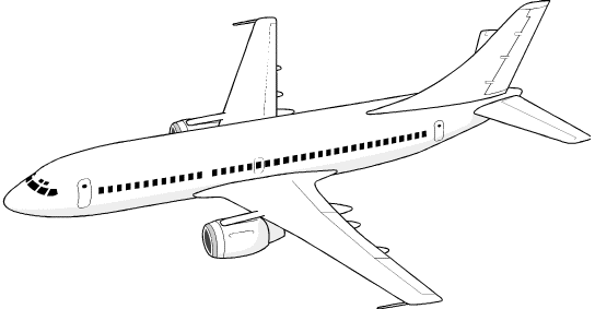 Aviation clipart black and white Zone airplane clipart Cliparts Pink