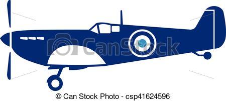 Aviation clipart spitfire World Spitfire Vectors Spitfire Plane