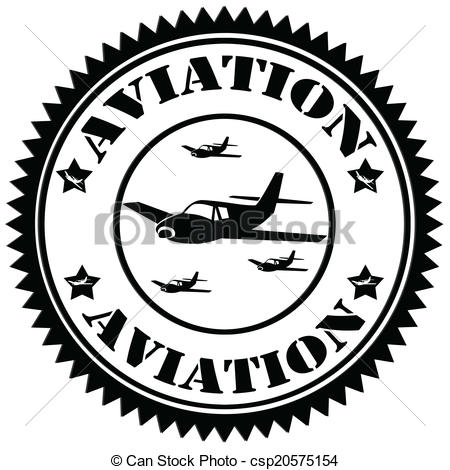 Aviation clipart vector Stamp text stamp Clipart