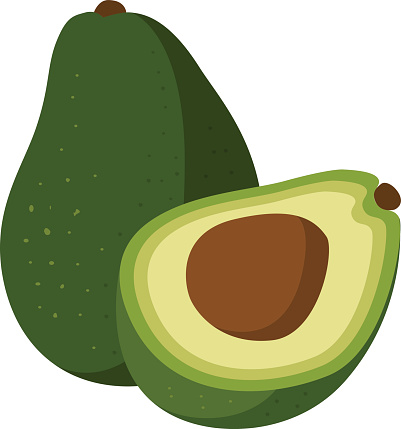 Avocado clipart Avocado for clipart Pages clipart