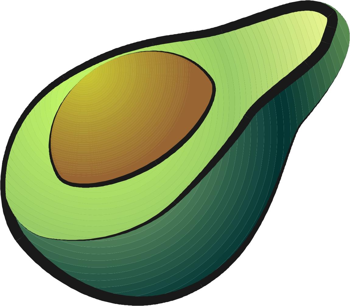 Avocado clipart animated Avocados Clipart 2 Clipart Avocado