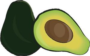 Avocado clipart animated Image Avocado Juicy fresh Clipart