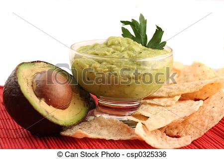 Avocado clipart chip guacamole Guacamole guacamole Photo sliced