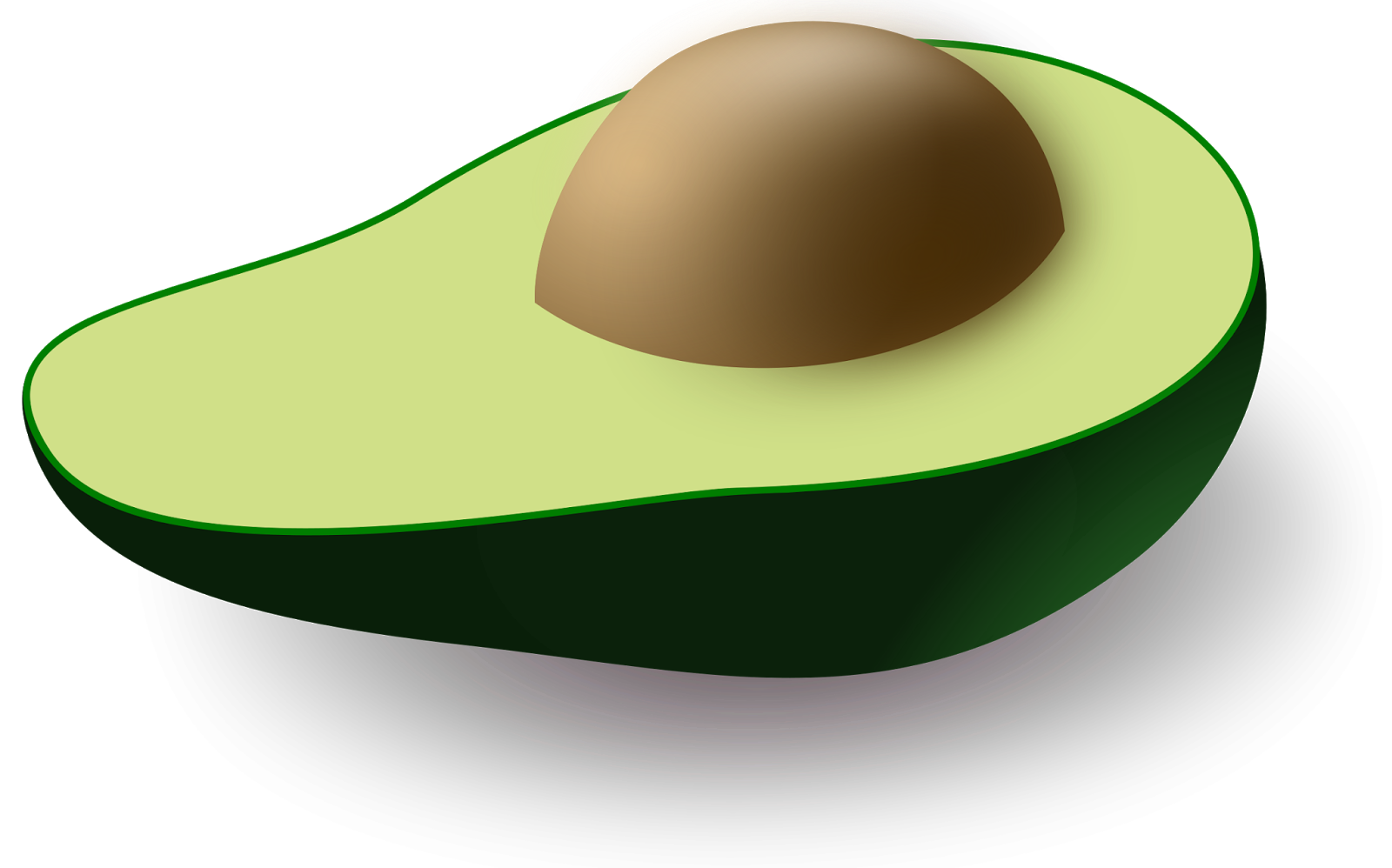 Avocado clipart chip guacamole And do on did Being