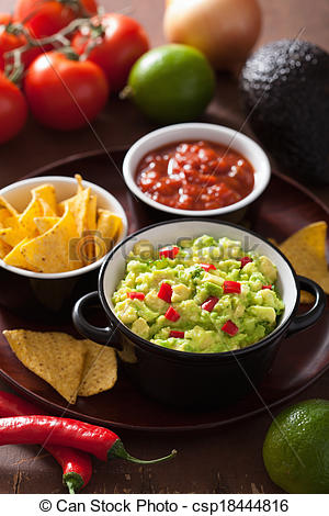 Avocado clipart chip guacamole Chili chips  Photo tortilla