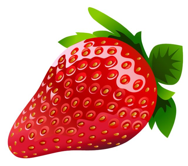 Pice clipart red fruit #4