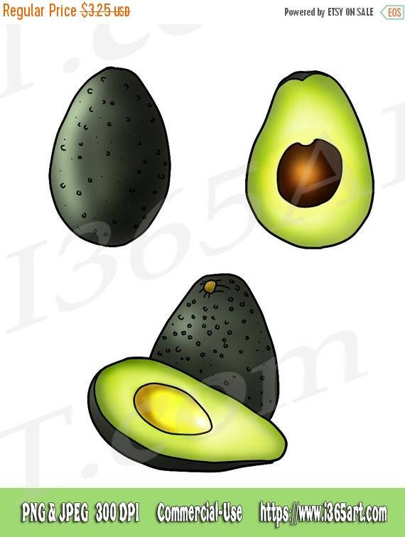 Avocado clipart vegetable Clipart Food Scrapbooking  PNG