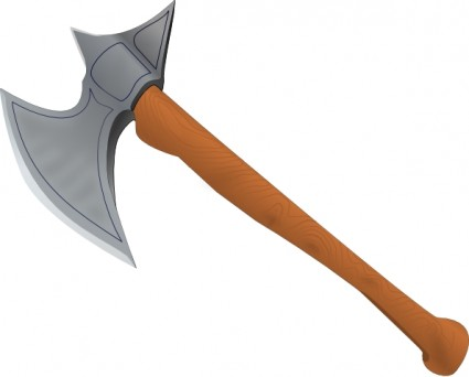 Axe clipart long object Axe Medieval Axe Clipart Download