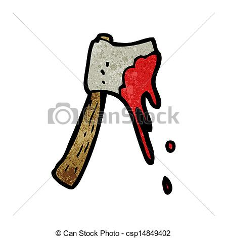 Axe clipart bloody #3
