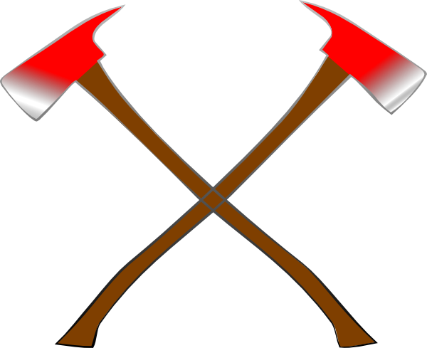 Axe clipart fire axe #7