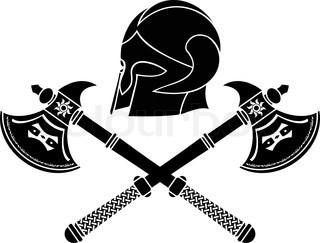 Axe clipart norman Axe axe Vector Viking with