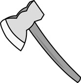 Axe clipart object Objects handle Search Kb Size: