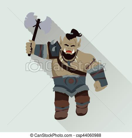 Axe clipart object Object of and Orc game