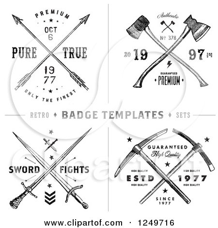 Axe clipart sword Designs with with Sword Royalty