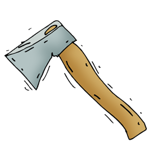 Axe clipart transparent #12