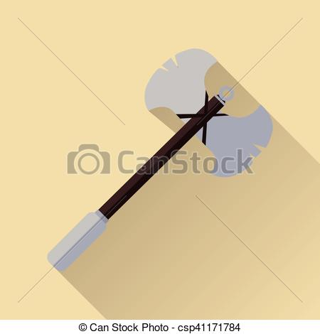 Axe clipart two Battle Two Medieval Vector blade