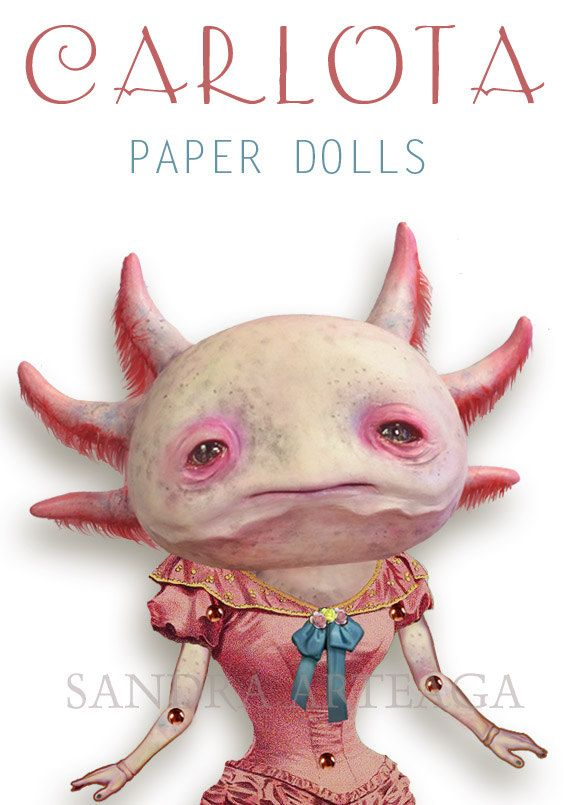 Axolotl clipart pink Best on art freak DOLL