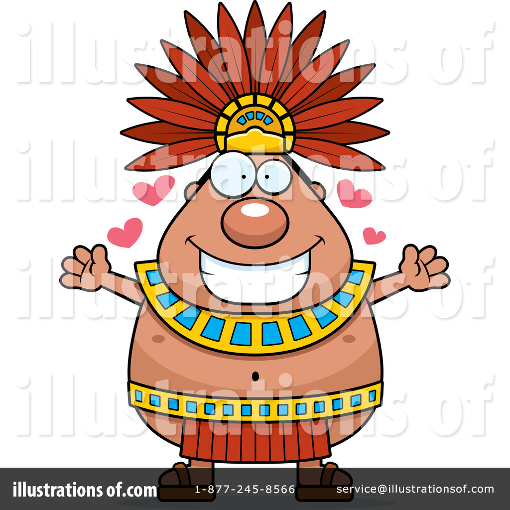 Aztec clipart Illustration Cory Cory Aztec Illustration