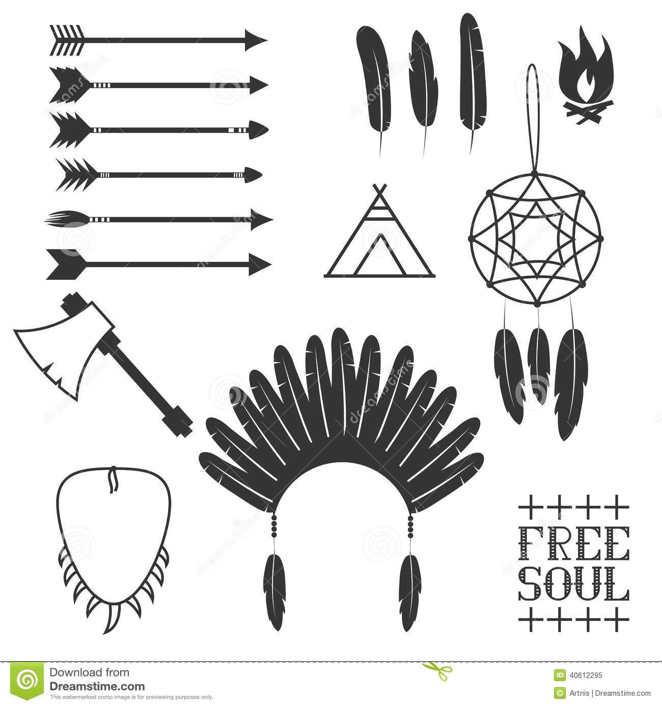 Aztec clipart arrow #12