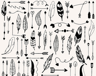Aztec clipart black and white #12