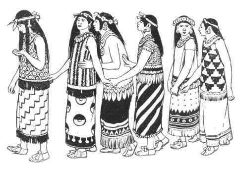 Aztec clipart clothing #10