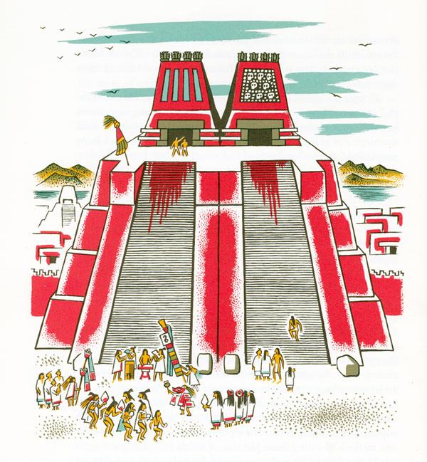 Aztec clipart great pyramid #6