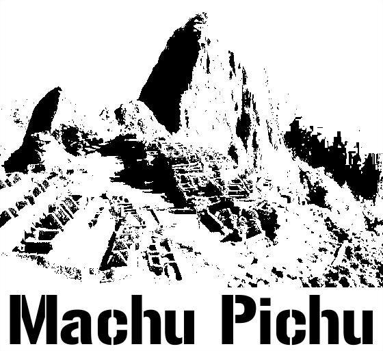 Aztec clipart machu picchu Images y Blanco LOGOS Pinterest