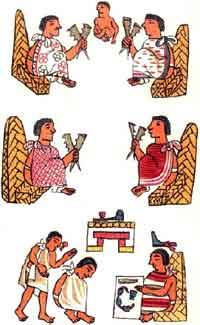Aztec clipart merchant 600 Law in AD) Aztec