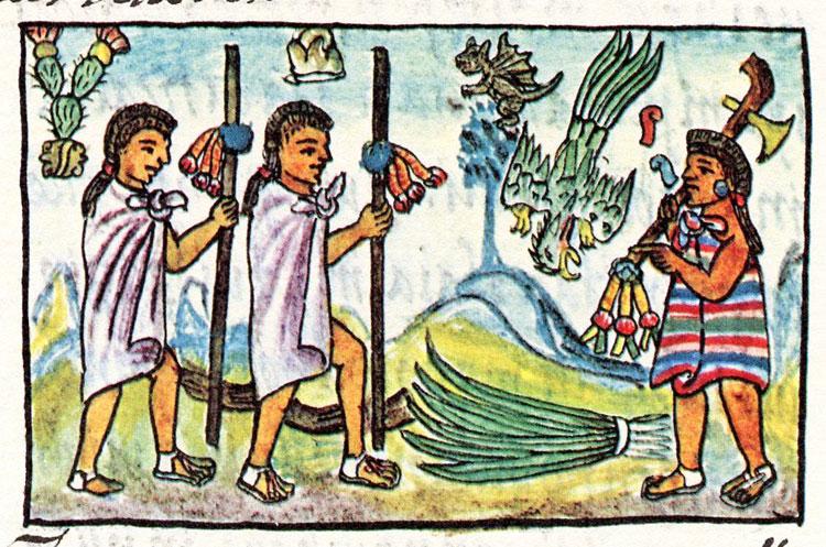 Aztec clipart merchant Mexicans at Mice: they merchants