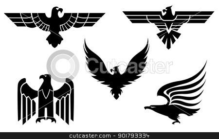 Aztec clipart mexican eagle