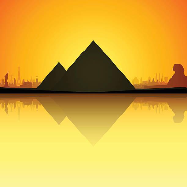 Aztec clipart pyramid giza #15
