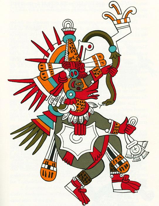 Aztec clipart sun god #11