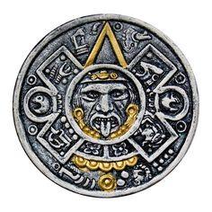 Aztec clipart sun god #7