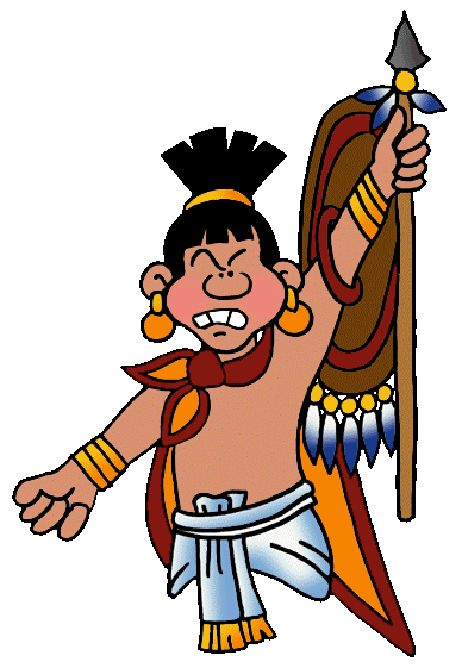 Aztec Warrior clipart The images time Pinterest best