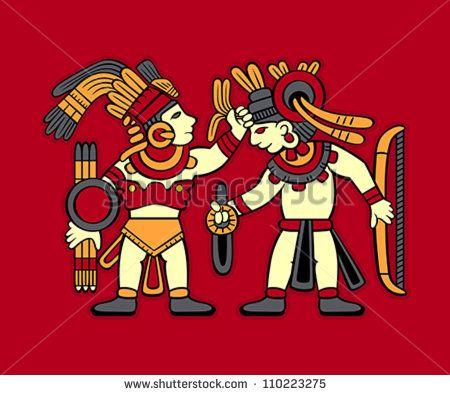 Aztec Warrior clipart ancient Prehispanic 22 best images Aztec
