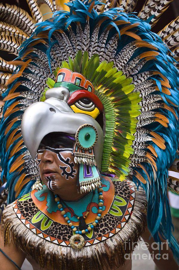 Aztec Warrior clipart artwork #2