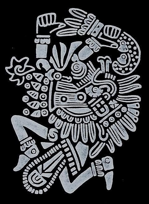 Aztec Warrior clipart artwork #14