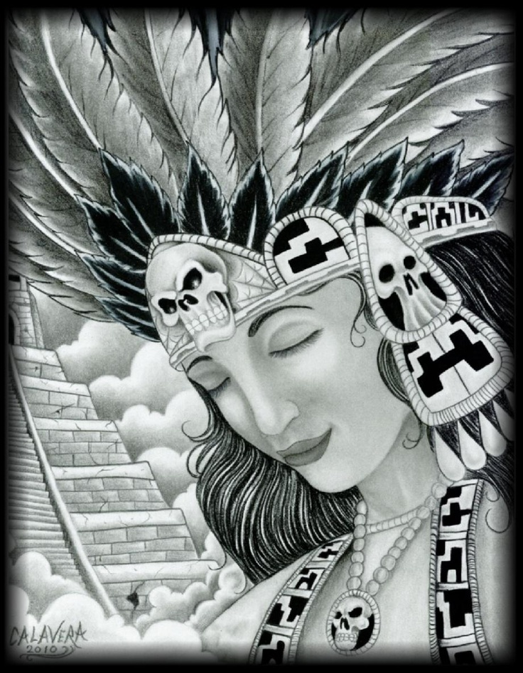 Aztec Warrior clipart black and white Drawings on Princess Pinterest best