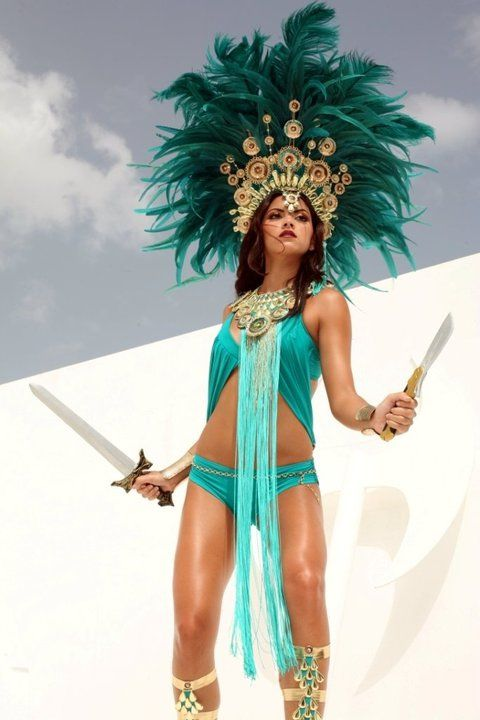 Aztec Warrior clipart carnival costume For ArtCarnival on wouldn't Pinterest