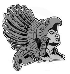 Aztec Warrior clipart fighting #5