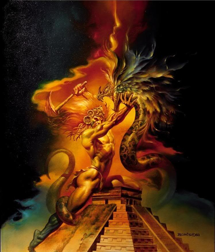 Aztec Warrior clipart fighting #11